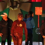 The Flash Filming Christmas