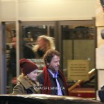 The movie Phil filming in Vancouver