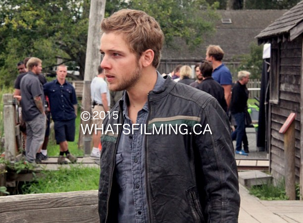 Max Thieriot Filming Bates Motel