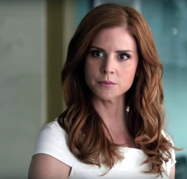 Only A Few Days After Hit TV Series U0027Suitsu0027 Wrapped Production On Its 5th  Season In Toronto, Sarah Rafferty (who Plays Donna In The Show) Made Her  Way To ...