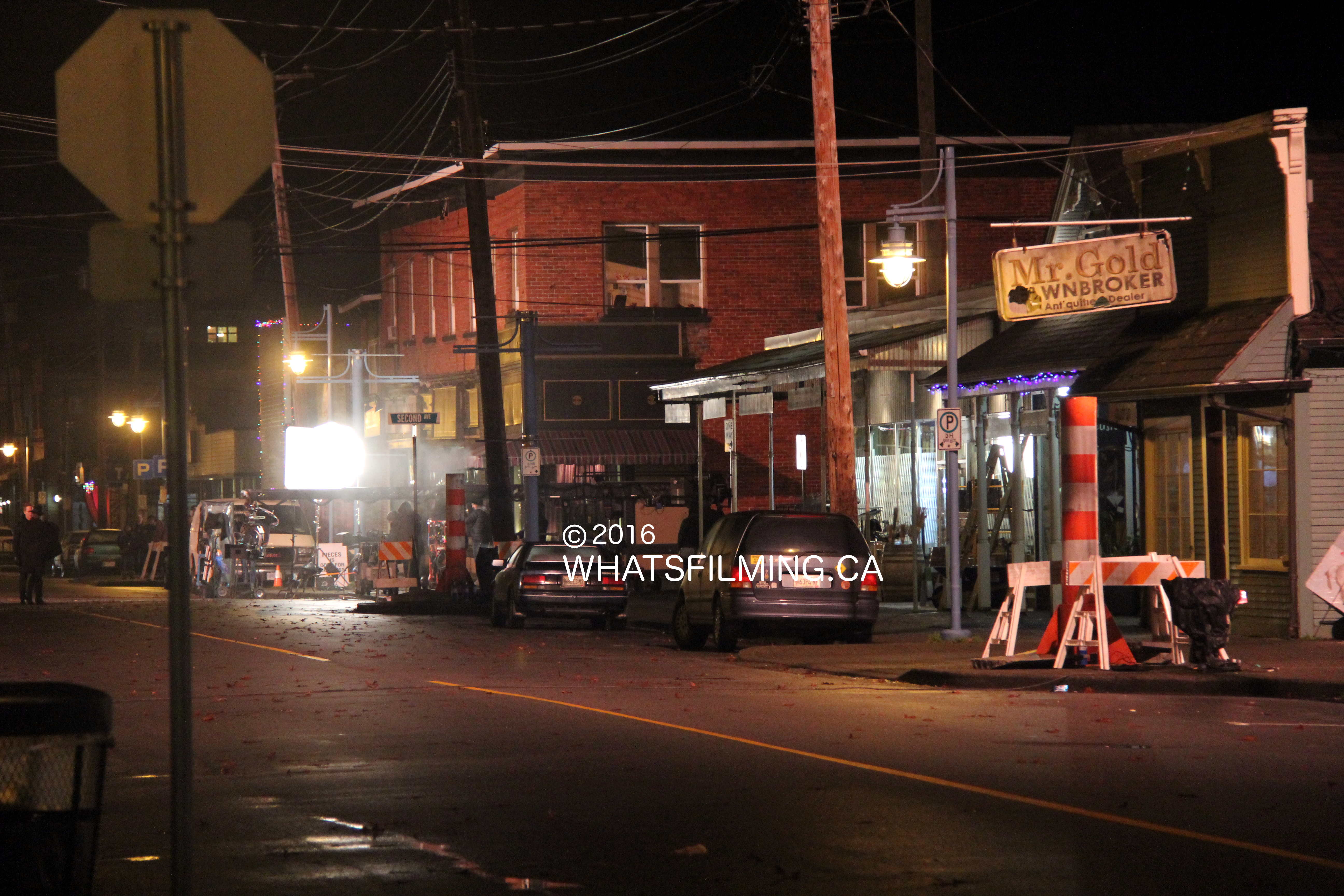Once Upon a Time Filming in Steveston