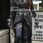 The 100 Filming in Vancouver