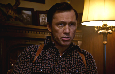 Still of Jeffrey Donovan in his role as Dodd Gerhardt in an episode of Fargo