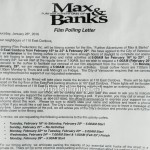 Fifty Shades of Grey: Fifty Shades Darker Filming Notice in Vancouver