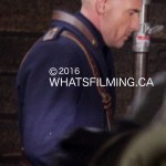 Dominic Purcell filming Legends of Tomorrow
