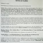 Power Rangers Movie Filming Notice for February 29 to March 2nd at Gladstone Secondary School in Vancouver