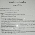 Zoo Filming Notice For February 27th on Railway Street in Vancouver