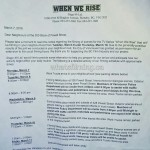 When We Rise Filming Notification Powell Street Vancouver March 8, 9, 10, 2016