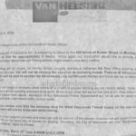 Van Helsing Filming Notice 600 Homer Street March 14, 2016