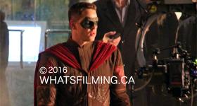 Sidekick filming in Vancouver