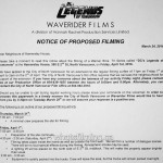 Legends Of Tomorrow Filming Notice for April 1, 2016 at Hamersley House 2nd Street North Vancouver