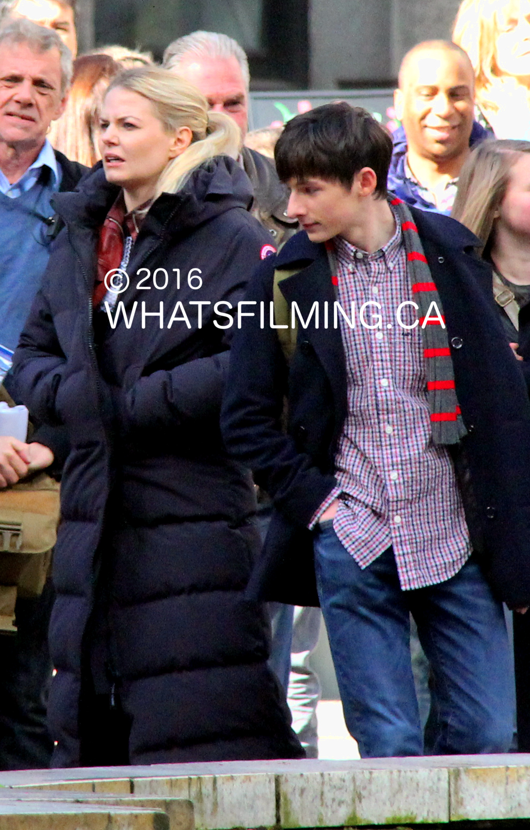 Once Upon a Time Filming at Vancouver Art Gallery