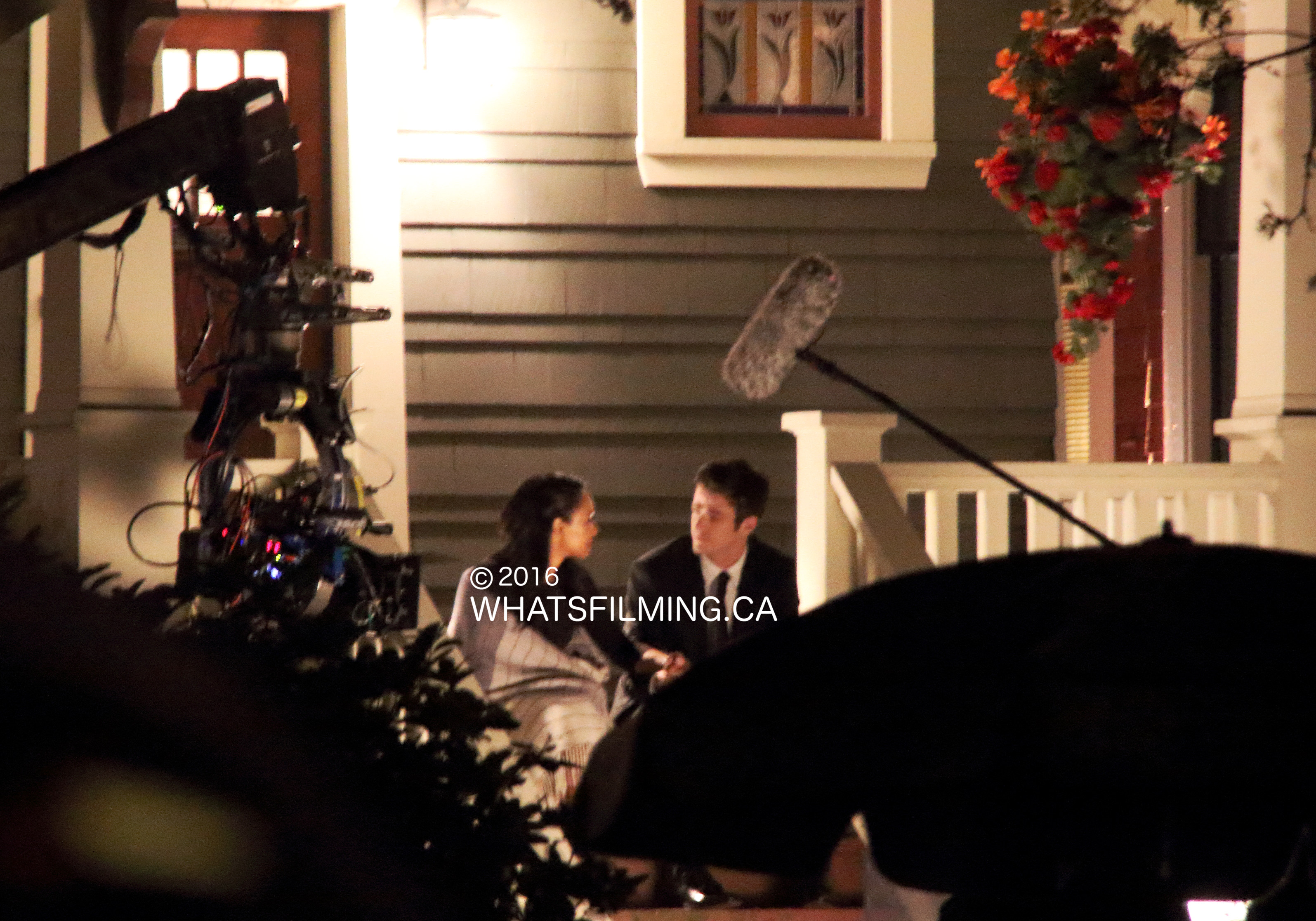 The Flash Season 2 Finale Filming