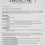 Arrow Filming Notice April 11, 2016 Byrne Creek Ravine Park Burnaby