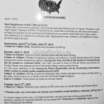 The Man in the High Castle Filming Notice April 11, 2016 Carrall Street Shanghai Alley Vancouver