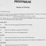 Prison Break Filming Notice April 22, 2016 Vancouver Auto Powell