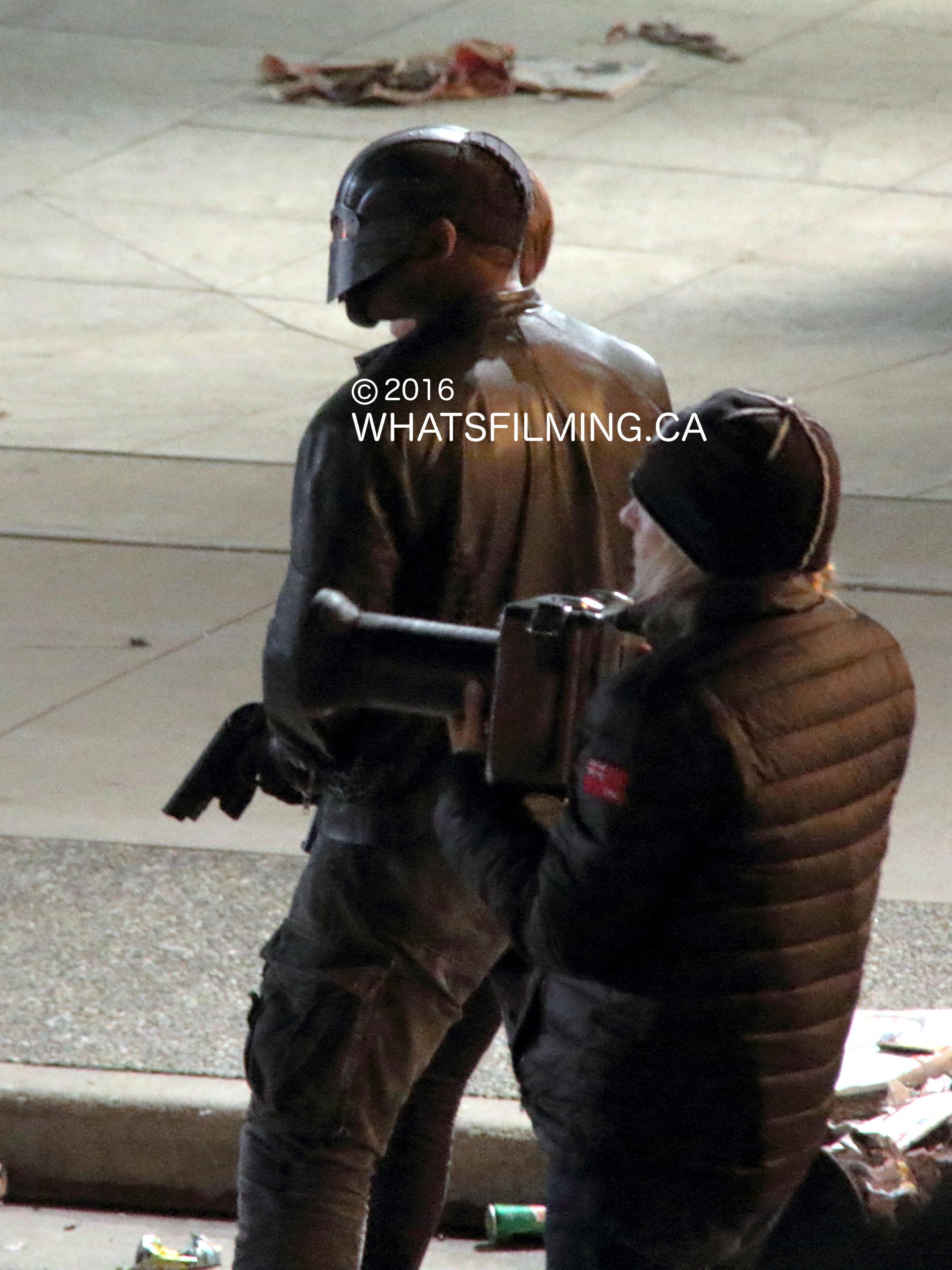 Arrow Season 4 Finale Filming