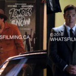 Aasif Mandvi and Patrick Warburton Filming A Series of Unfortunate Events in Vancouver