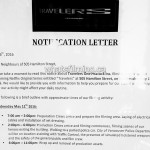 Travelers Filming Notice May 11, 2016 Hamilton Street Vancouver