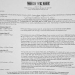When We Rise Filming Notice May 11, 12, 13, 2016 Powell Vancouver
