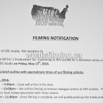 The Man in the High Castle Filming Notice CBC Vancouver