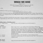 When We Rise Filming Notice June 3, 2016 Campbell Avenue Vancouver