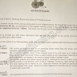 The Romeo Section Filming Notice July 11, 2016 E Hastings St & Princess Ave, Vancouver