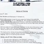 Supernatural Filming Notice July 25, 2016 Brix & Mortar, Homer Street, Yaletown, Vancouver