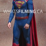 Tyler Hoechlin in the Superman Suit for Supergirl