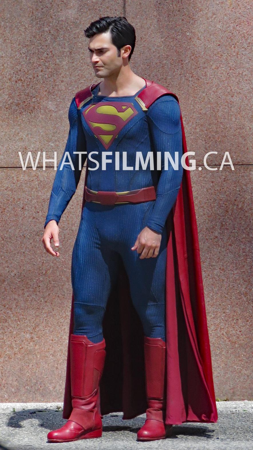 Tyler Hoechlin as Clark Kent & Superman For Supergirl Season 2