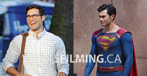 Tyler Hoechlin as Clark Kent & Superman For Supergirl Season 2