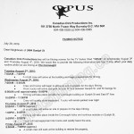 Dirk Gently Filming Notice August 3-4, 2016 at The Connaught on Guelph St in Vancouver