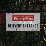 Central City Picture News Delivery Entrance