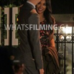 Barry and Iris talking