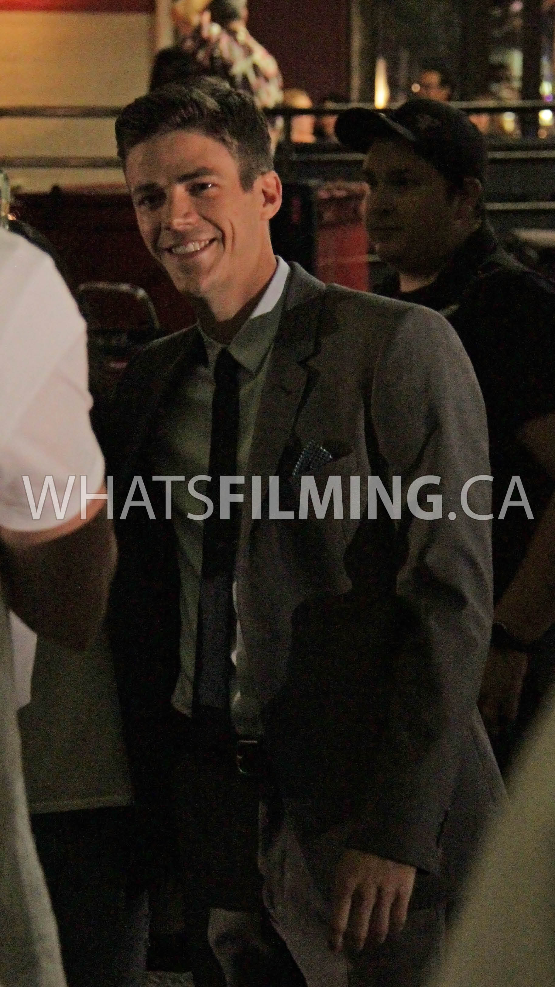 Grant gustin taking time to meet fans in between takes whats filming grant gustin taking time to meet fans in between takes m4hsunfo Image collections