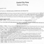 The Flash Filming Notice August 30, 2016 Homer/Dunsmuir/Hamilton St in Vancouver