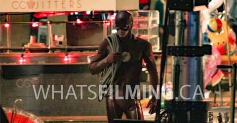 The Flash Season 3 Episode 5 Filming in Vancouver