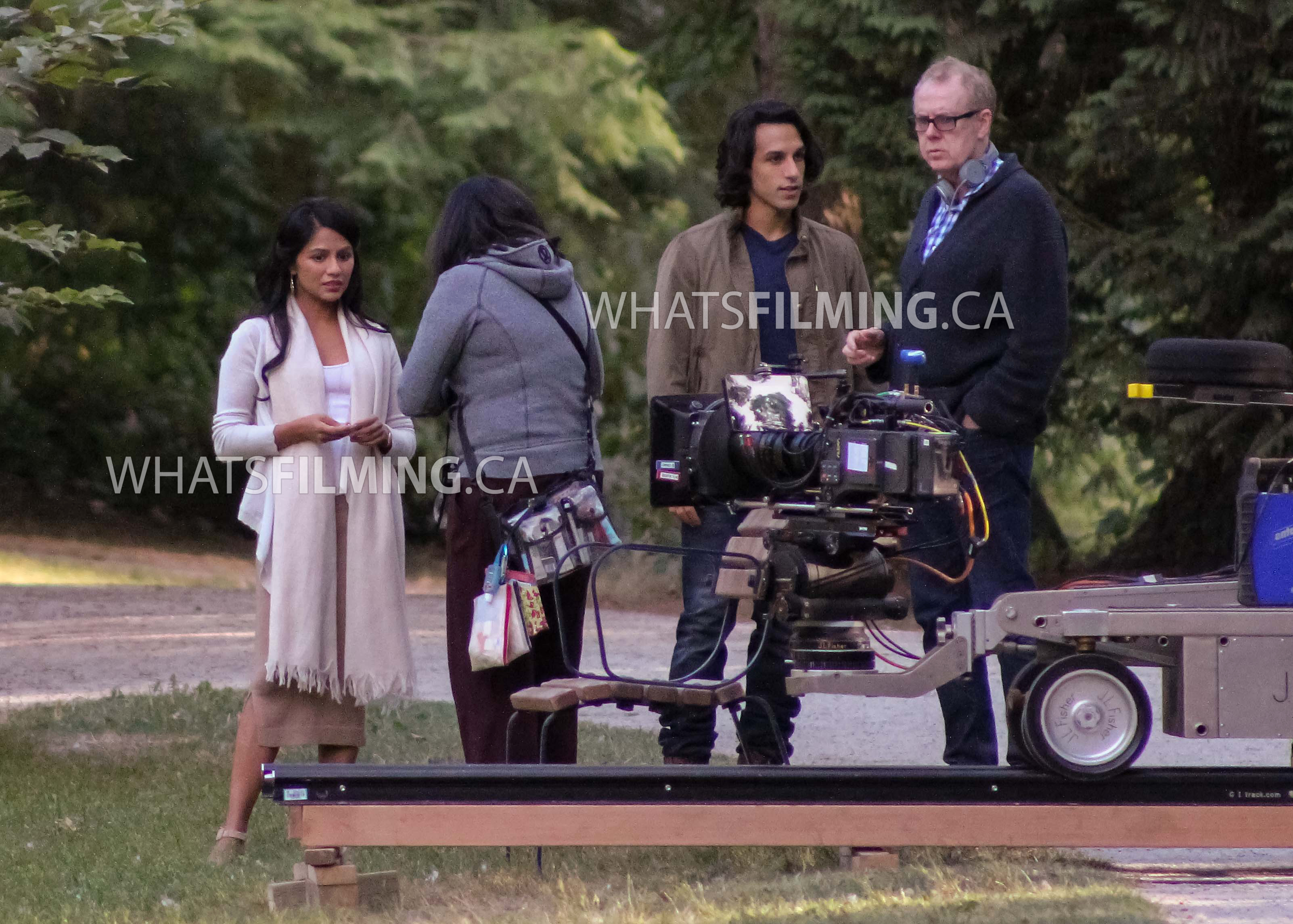 Jasmine and Aladdin Filming Once Upon a Time Season 6 Episode 5