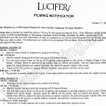 Lucifer Filming Notice October 13-14, 2016 at Dr. Sun Yat-Sen Garden on Carrall St in Vancouver