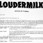 Loudermilk Filming Notice October 27-28 at The Whip on E 6th Ave & 203 E 6th Ave in Vancouver