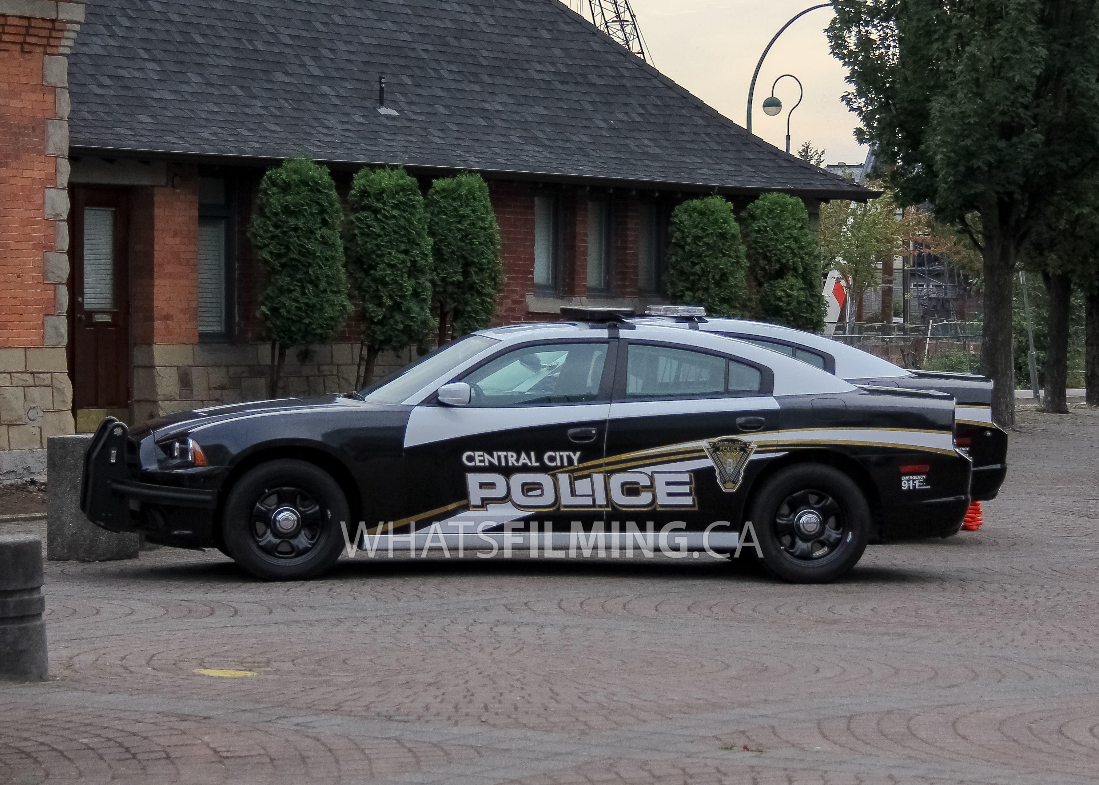 Central City Police Cars On Set Ccpd What 39 S Filming