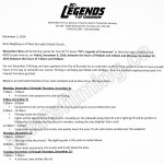 Legends Of Tomorrow Filming Notice December 9 &12, 2016 at West Burnaby United Church