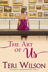 The cover of The Art of Us Novel