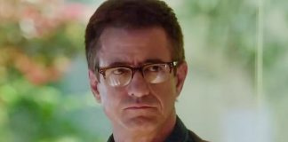 The Christmas Train stars Dermot Mulroney