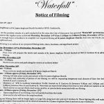 Noelle Filming Notice December 14, 2017 at St. James Anglican Church on E. Cordova St. in Vancouver