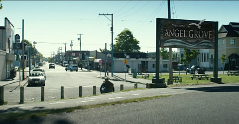 Power Rangers movie filming locations included Steveston Village in Richmond, BC.