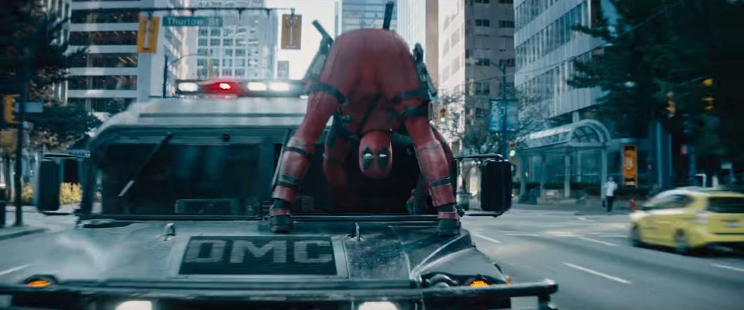 Deadpool 2 filming locations: Burrard & West Hastings